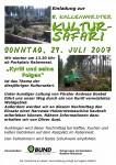 plakat kultursafari 29-07-2007