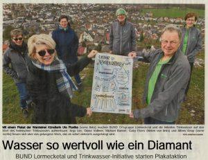 Zeitungsbericht_Plakat_Trinkwasser